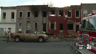 Five alarm fire in South Baltimore impacts a dozen homes