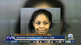 Woman missing since July 2, say West Palm Beach police