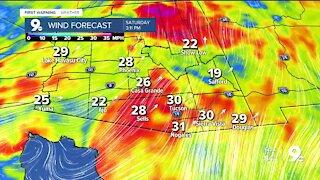 Gusty wind returns to southern Arizona
