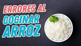 Mistakes you make when cooking rice Delirante Kitchen