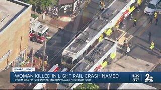 Baltimore police identify woman killed in Light Rail crash