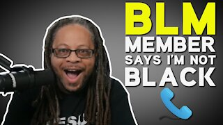 BLM Member Tells Black Man That He's Not Black
