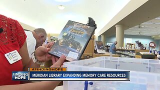 FINDING HOPE: Meridian Library expands resources for memory care