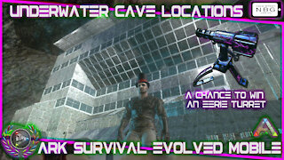Ark Survival Evolved Mobile: Under Water Cave Locations
