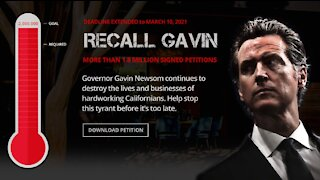Campaign To Recall Gavin Newsom Has 1.95 Million Signatures