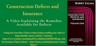 Construction Defects and Insurance
