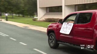 Pasco County teachers protest school reopening