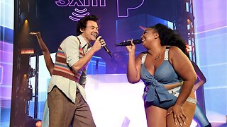 Harry Styles Gushes Over Lizzo At New York Show