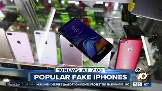 People intentionally buying fake cell phones?