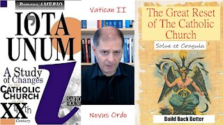 The Great Reset of The Catholic Church - IOTA UNUM