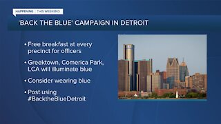 Back the Blue Campaign