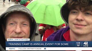 Training camp is annual event for some
