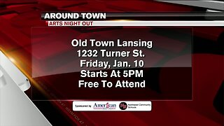 Around Town - Arts Night Out - 1/9/20