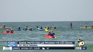 Program to help children learn about marine biology