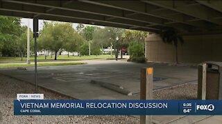 Vietnam Memorial relocation