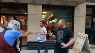 2 Jewish Men Attacked in NYC by Hamas Supporters