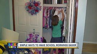 Simple ways to make school mornings easier