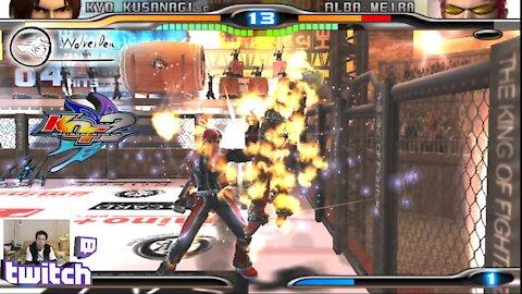 (PS2) KOF Maximum Impact 2 - 25 - Hard Challenge - Level 9