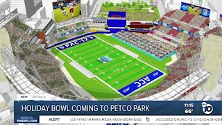 Holiday Bowl to be held at Petco Park in 2021