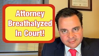 Real Attorney Reacts To Drunk Lawyer In Court 2