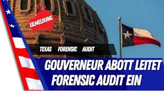 Texas verlangt Forensic Audit.