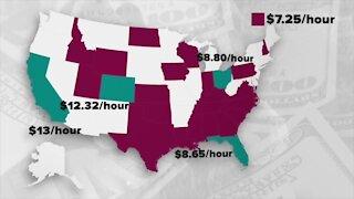 Democrats debate increasing minimum wage to $15/hour in COVID-19 stimulus bill