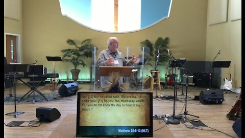 Worship service 2-21-21