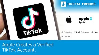 Apple Now Has a Verified TikTok