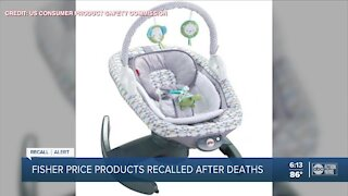 Fisher-Price recalling 4-in-1 Rock 'n Glide Soothers after confirmed infant deaths