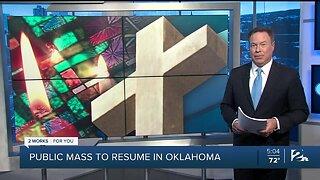 Public mass to resume in Oklahoma
