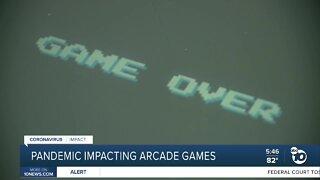 Pandemic impacting arcade games