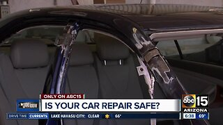 Is your car repair safe?