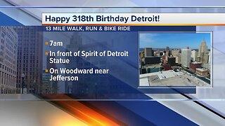 Happy 318th Birthday Detroit!