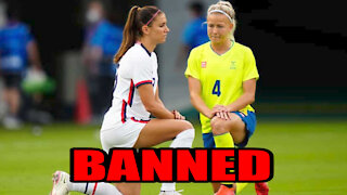 Tokyo 2020 Social Media Team BANNED from Showing Athletes taking a Knee