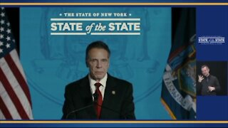 Governor Cuomo delivers 2021 State of the State Address