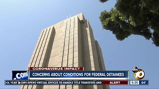 Concerns about conditions for federal detainees