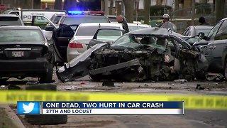 Deadly Crash 37th & Locust