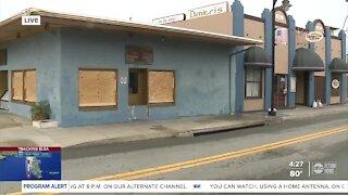 Tarpon Springs businesses closing and preparing for Elsa