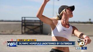 Olympic hopefuls undeterred by coronavirus outbreak