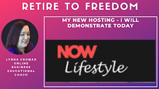 My New Hosting - I Will Demonstrate Today