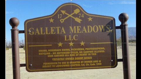 Galleta Meadows Sculpture Photo Tour