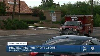 Coronavirus: How 1st responders protect themselves