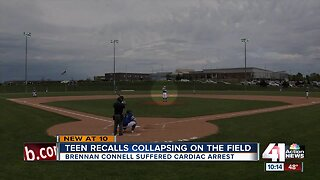 Olathe West baseball player thankful for help after collapse