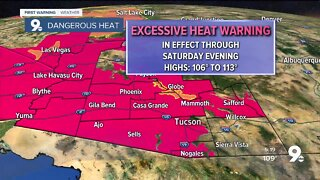 Extreme heat carries into the weekend