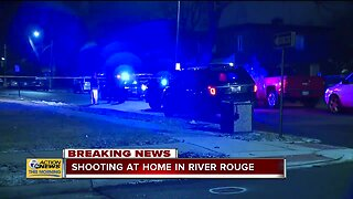 Police investigating shooting at home in River Rouge