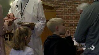 Churchgoers take extra precautions amid coronavirus fears