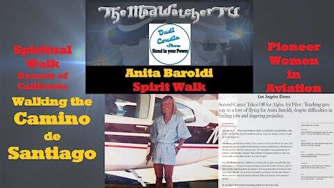 Ep59.Anita Baroldi - 'Spirit Walk' - a spiritual journey walking the El Camino