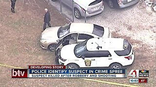 Man suspected in Liberty theft, Independence shooting shot and killed by police