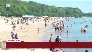 Several beaches in Milwaukee closed due to 'sewage spill'
