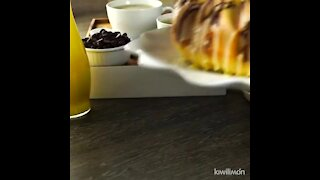 Rompope and Chocolate Pancake